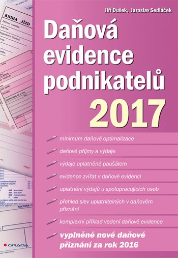 Daňová evidence podnikatelů 2017