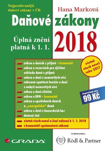 Daňové zákony 2018