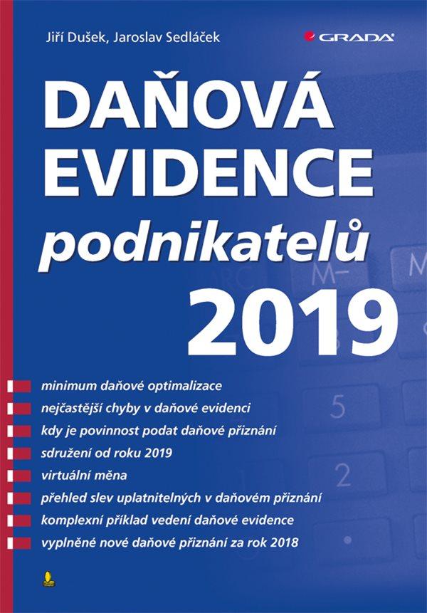 98f40b246 Daňová evidence podnikatelů 2019   Knihy Grada