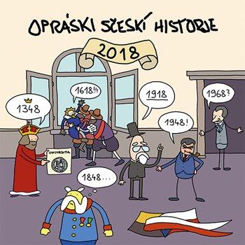 Opráski sčeskí historje 2018