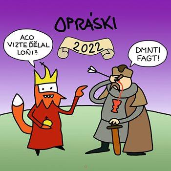 Opráski 2022 - kalendář
