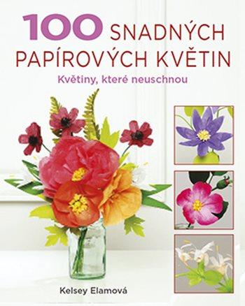 100 snadných papírových květin
