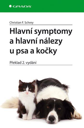 Hlavní symptomy a hlavní nálezy u psa a kočky