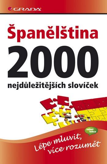 Španělština - 2000 nejdůležitějších slovíček