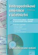 Vnitropodnikové směrnice v účetnictví + CD - ROM