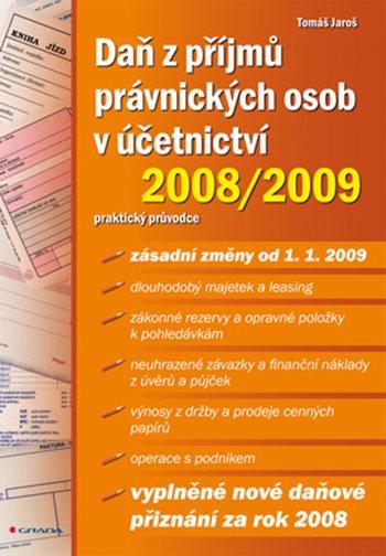 Daň z příjmů právnických osob v účetnictví 2008/2009