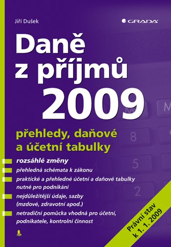 Daně z příjmů 2009