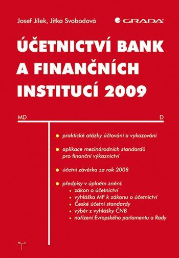 Účetnictví bank a finančních institucí 2009