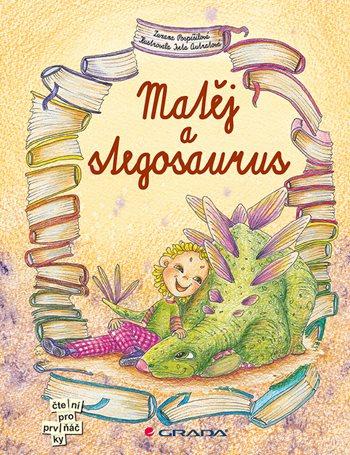 Matěj a stegosaurus