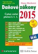 Daňové zákony 2015