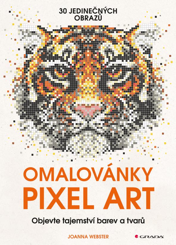Omalovánky Pixel Art, tajemství barev a tvarů