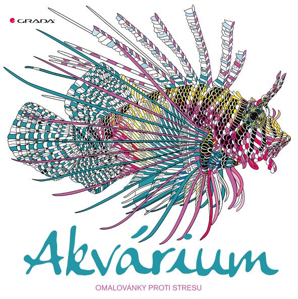 Akvárium, omalovánky proti stresu