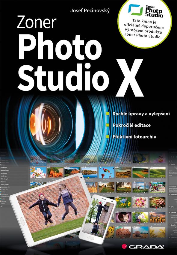 Zoner Photo Studio X, moderní průvodce krok za krokem
