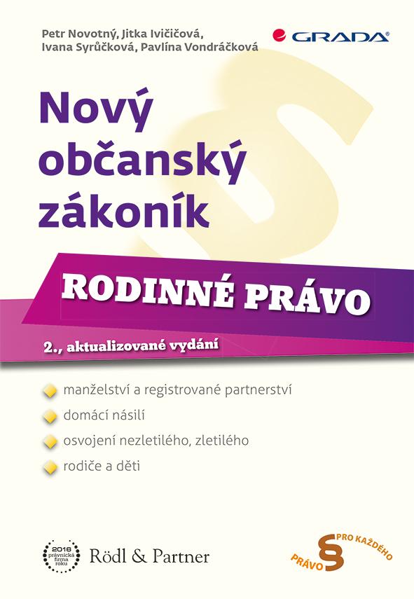 Nový občanský zákoník - Rodinné právo, 2., aktualizované vydání