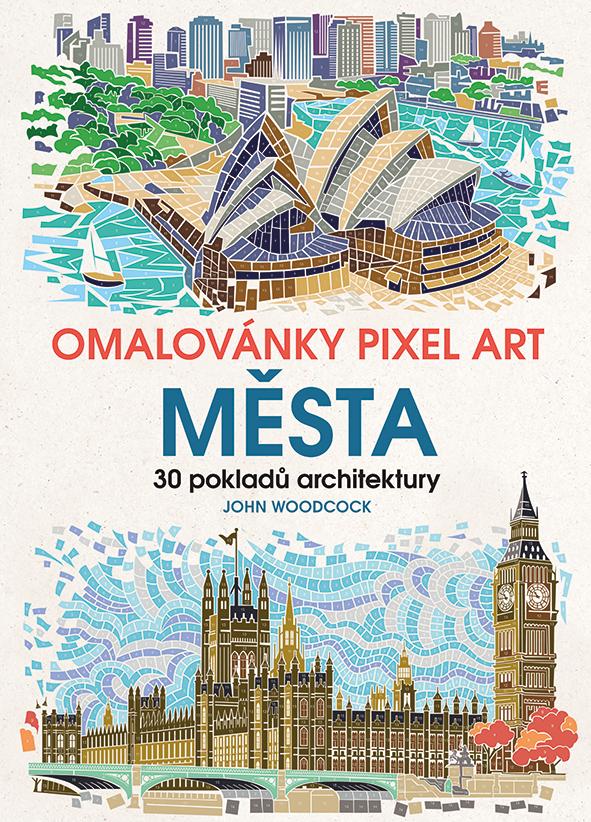 Omalovánky Pixel Art Města, 30 pokladů architektury