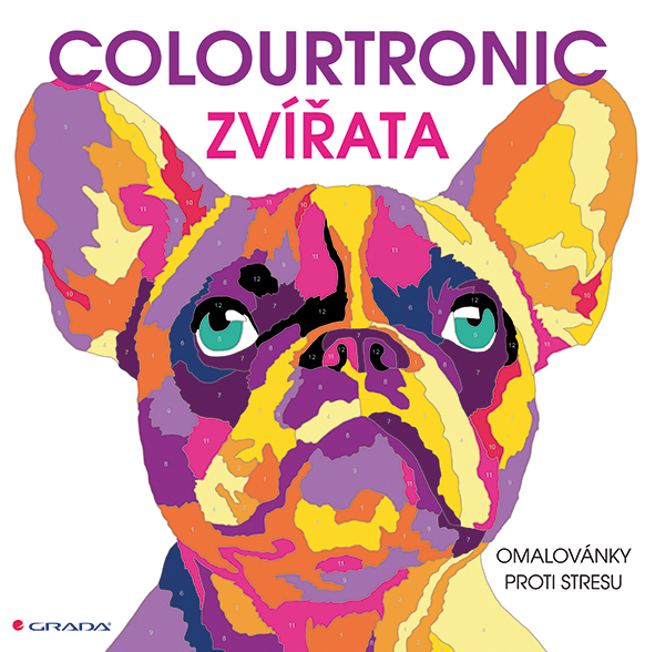 Colourtronic Zvířata, omalovánky proti stresu