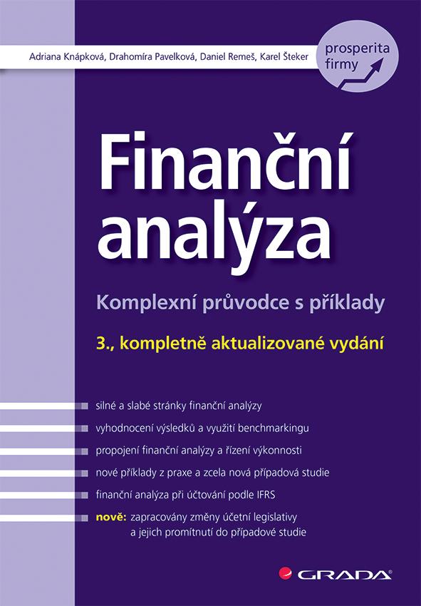 Finanční analýza, Komplexní průvodce s příklady - 3., kompletně aktualizované vydání