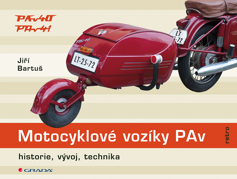 Motocyklové vozíky PAv, Historie, vývoj, technika