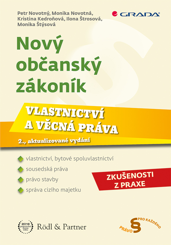 Nový občanský zákoník - Vlastnictví a věcná práva, 2., aktualizované vydání