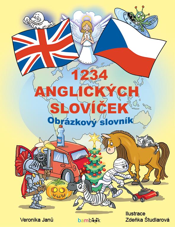 1234 anglických slovíček, Obrázkový slovník pro děti