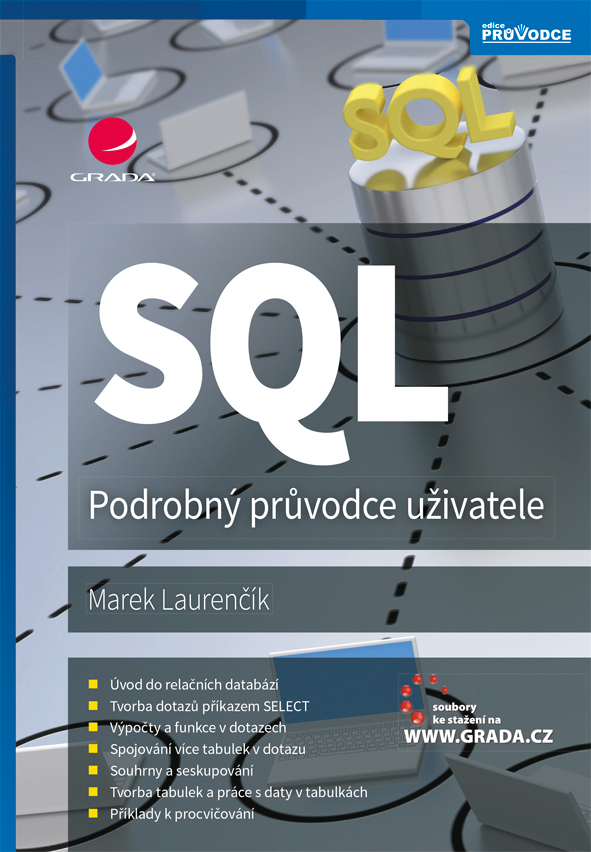 SQL, Podrobný průvodce uživatele
