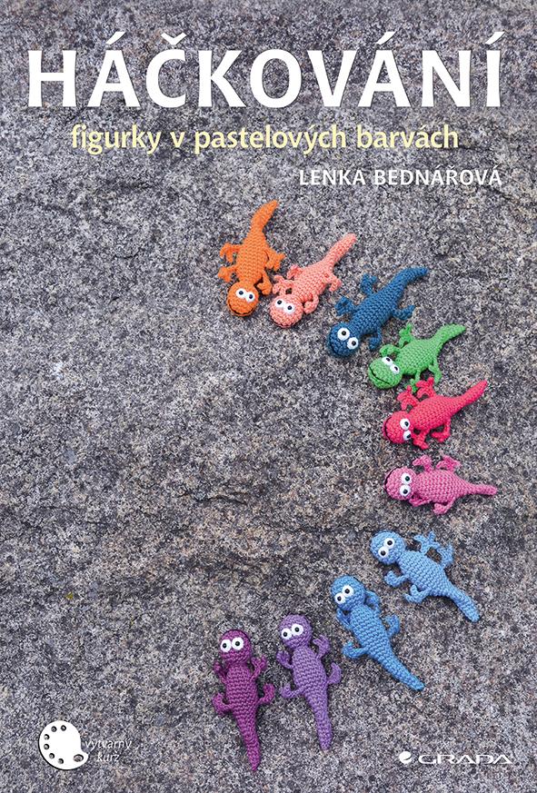 Háčkování, figurky v pastelových barvách