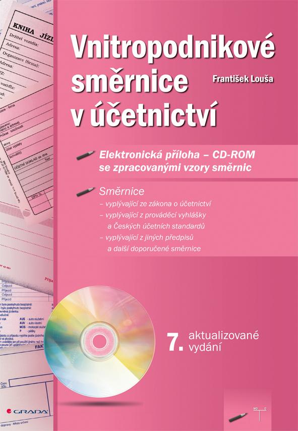 Vnitropodnikové směrnice v účetnictví s CD-ROMem, 7. aktualizované vydání