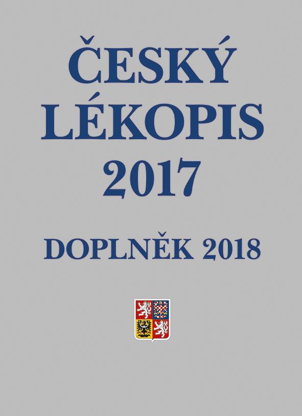 Český lékopis 2017 - Doplněk 2018, Tištěná verze