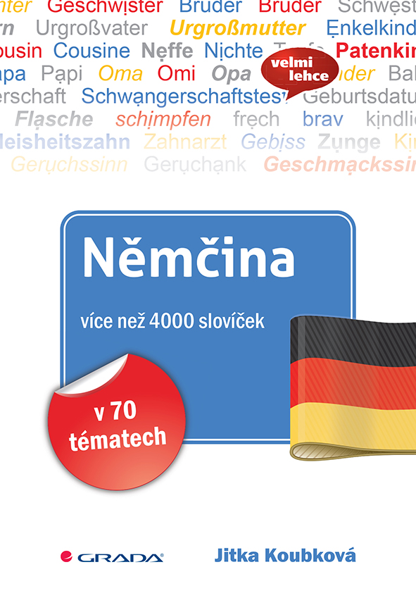 Němčina více než 4000 slovíček, v 70 tématech