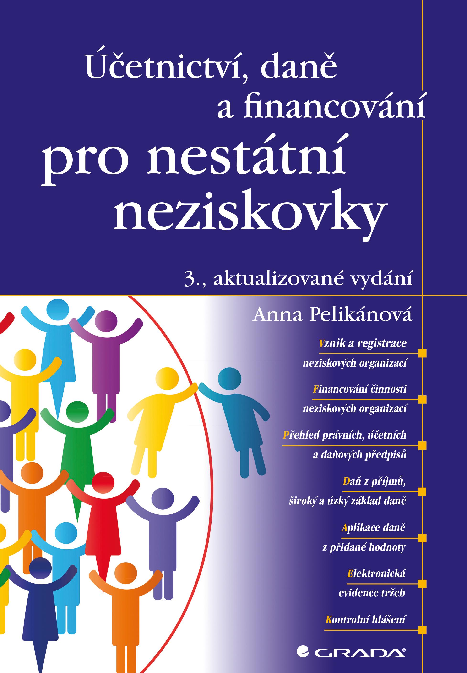 Účetnictví, daně a financování pro nestátní neziskovky, 3., aktualizované vydání