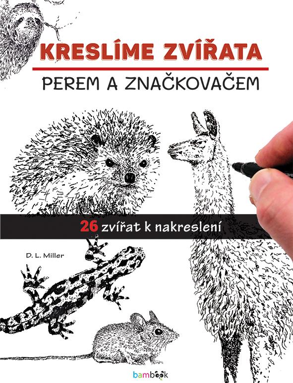 Kreslíme zvířata, perem a značkovačem