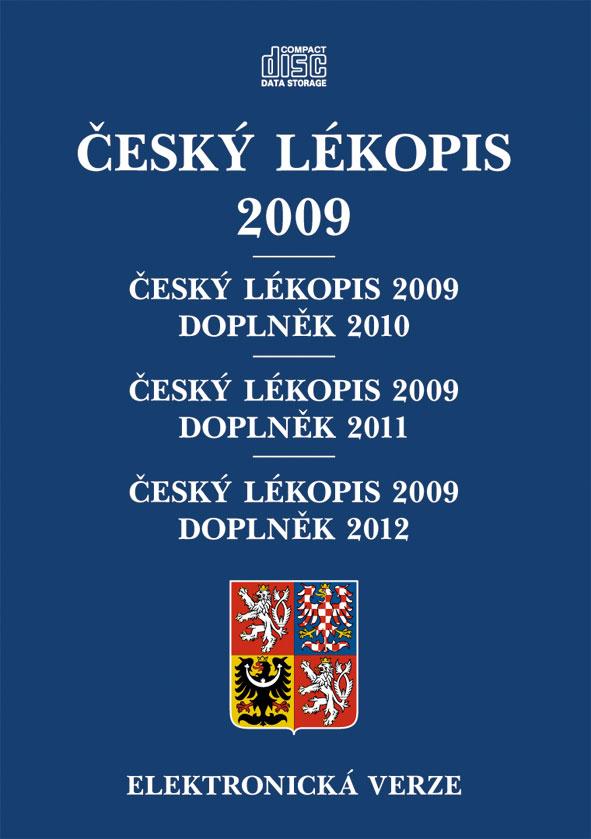 Český lékopis 2009, ČL 2009 - Doplněk 2010, ČL 2009 - Doplněk 2011, ČL 2009 - Doplněk 2012