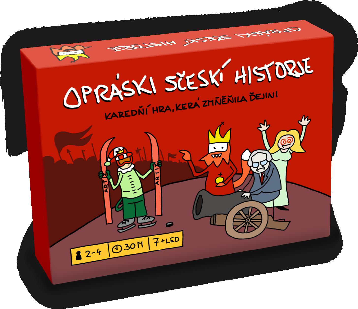 Opráski sčeskí historje - karetní hra, Karedňí hra, kerá změňila ďejini