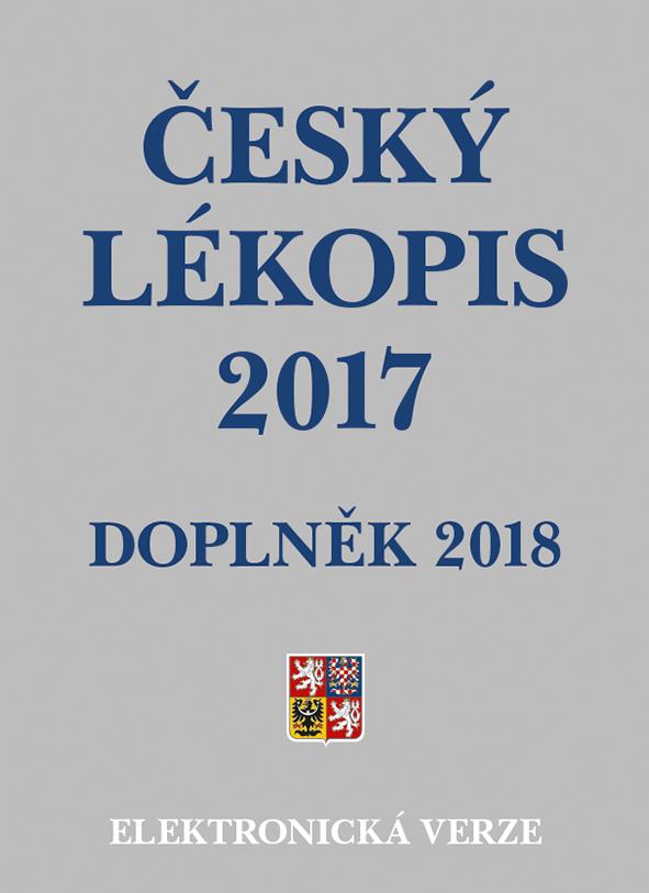 Český lékopis 2017 - Doplněk 2018, Elektronická verze na flash disku