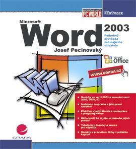 Word 2003, Pecinovský Josef