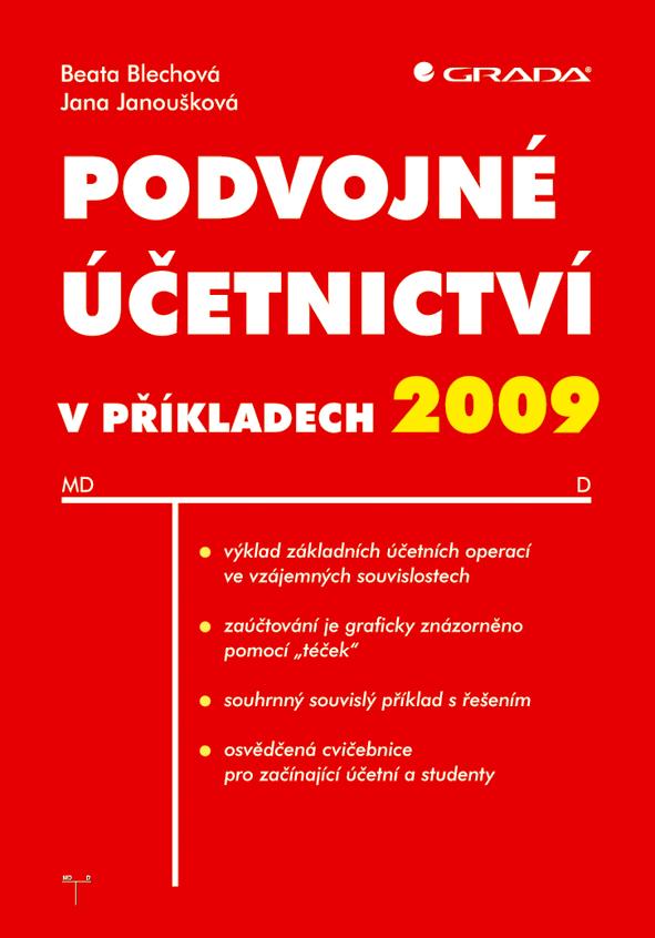 Podvojné účetnictví v příkladech 2009