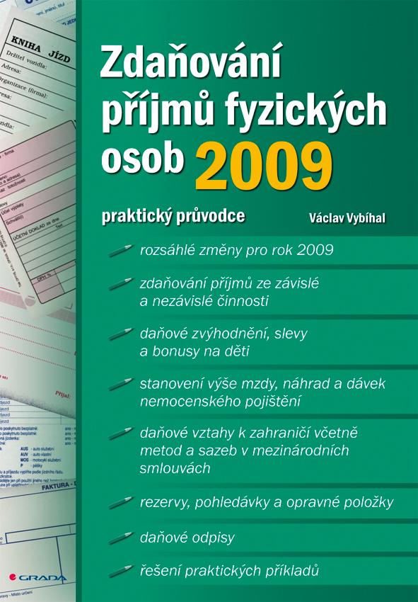 Zdaňování příjmů fyzických osob 2009