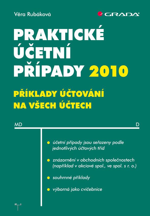Praktické účetní případy 2010