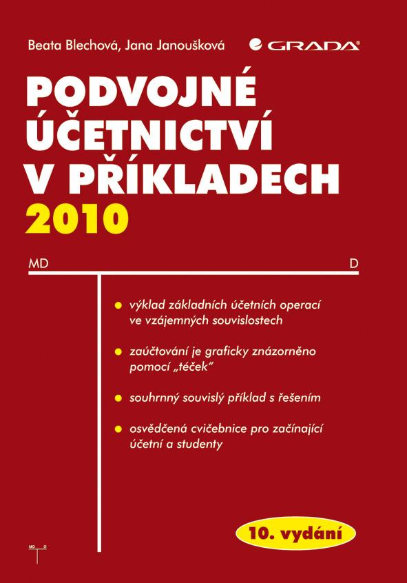Podvojné účetnictví v příkladech 2010