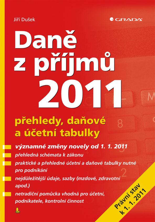 Daně z příjmů 2011