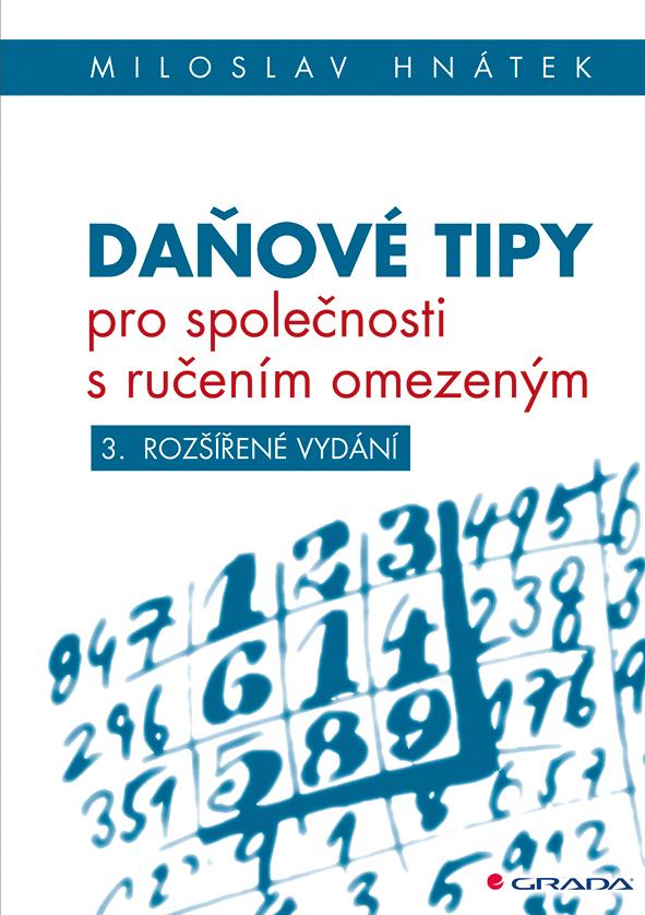 Daňové tipy pro společnosti s ručením omezeným, 3. vydání