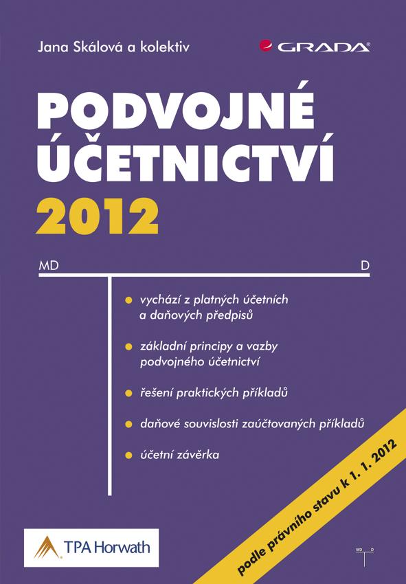 Podvojné účetnictví 2012