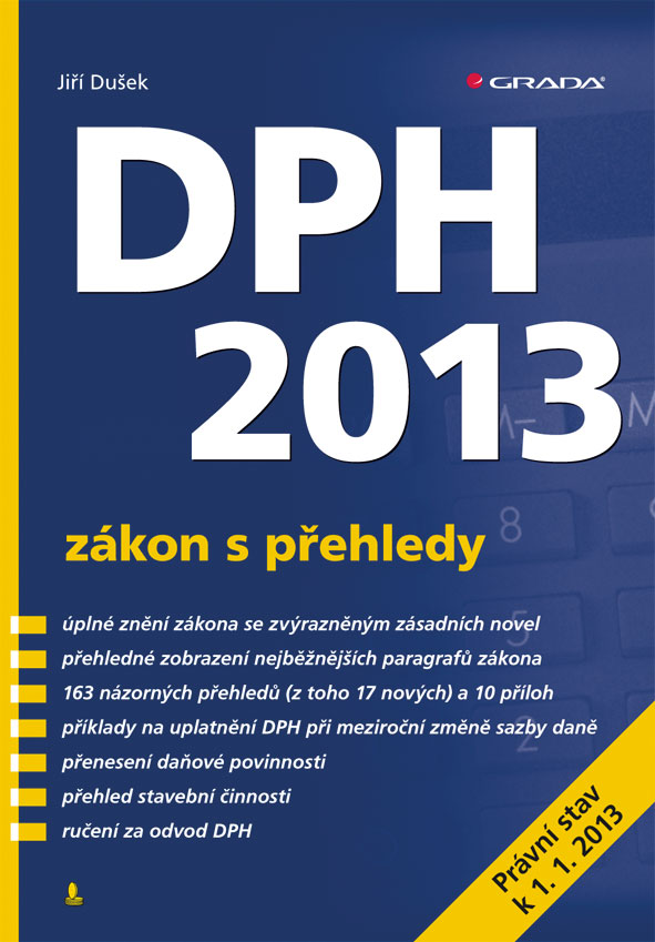 DPH 2013 - zákon s přehledy