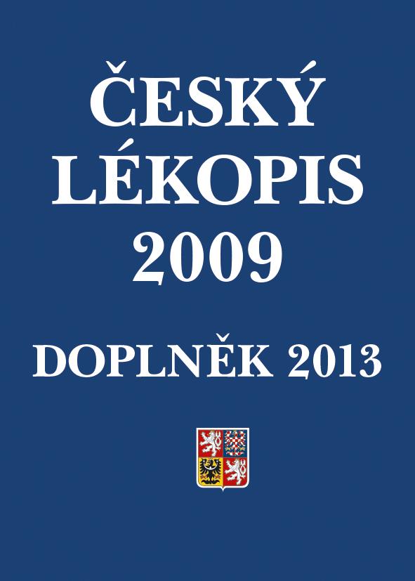 Český lékopis 2009 - Doplněk 2013