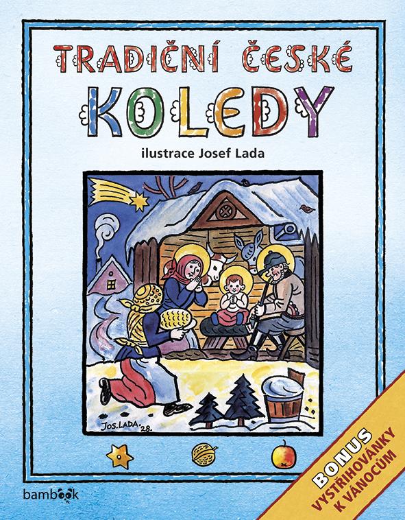 Tradiční české KOLEDY - Josef Lada, Bonus - vystřihovánky k Vánocům