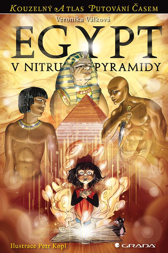Egypt - V nitru pyramidy