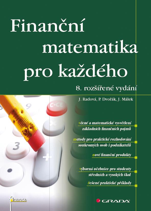 Finanční matematika pro každého, 8. rozšířené vydání