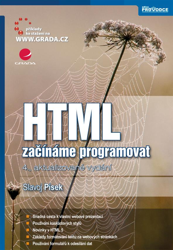 HTML, začínáme programovat, 4., aktualizované vydání