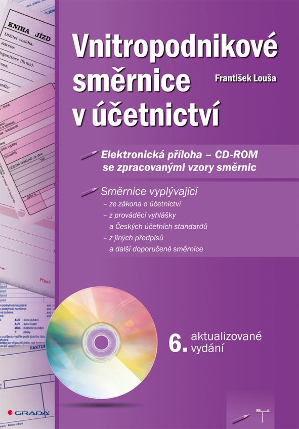 Vnitropodnikové směrnice v účetnictví s CD - ROMem