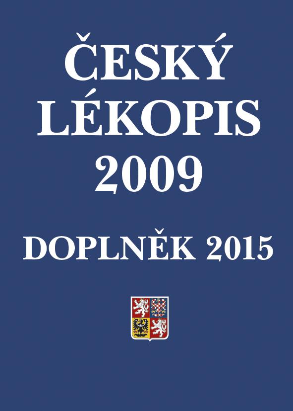 Český lékopis 2009 - Doplněk 2015, Tištěná verze